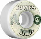 BONES 100's OG Formula 52×34 V4 Skateboard Wheel 100a 4pk