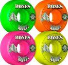 BONES 100's OG Formula 53×34 V1 Skateboard Wheel 100a 4pk Asstd